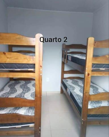 Quarto com 2 camas beliche