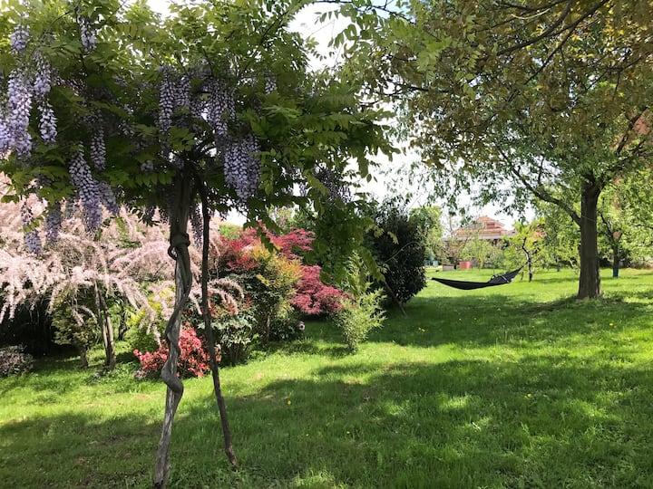 Замечательный Дом с Садом