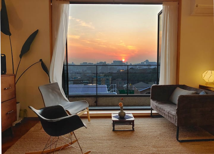 *Naksan Balcony* Luxury 3BR w/ private rooftop