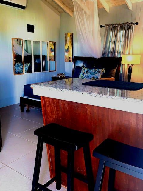 Palm cottage....confortable, relaxant, espace privé