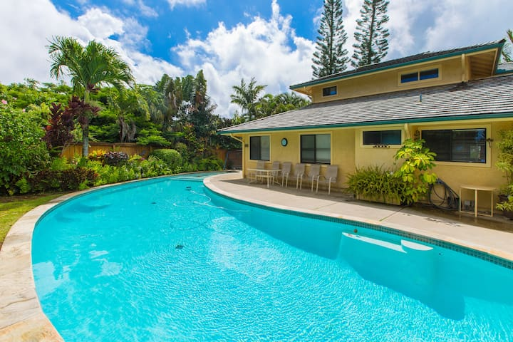 HALE MAHANA HOUSE IN PRINCEVILLE WITH PRIVATE POOL