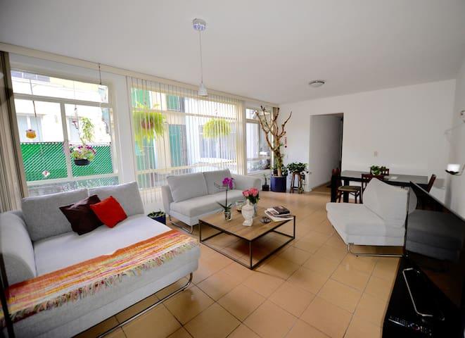 Cozy & comfortable room near to Reforma Ave - Juárez - Wohnung