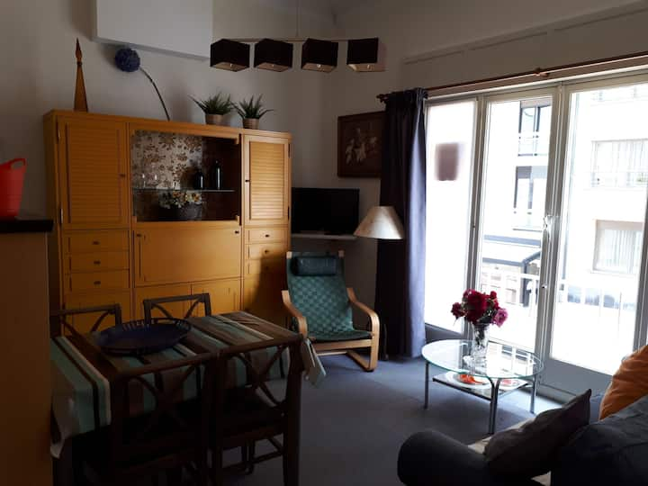 Charming 1 bedroom appartment  lateral sea view