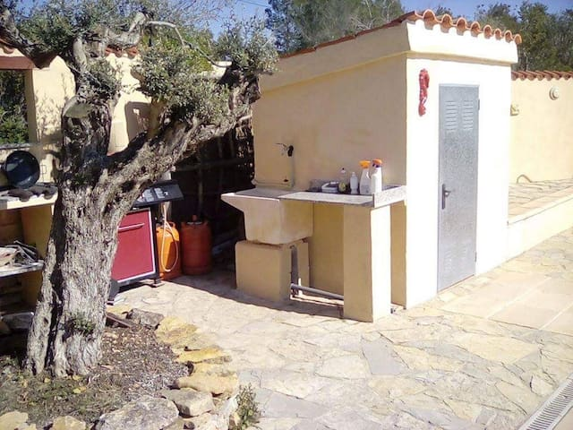 El Alamo - a special countryside retreat with pool - Castelló - Leilighet