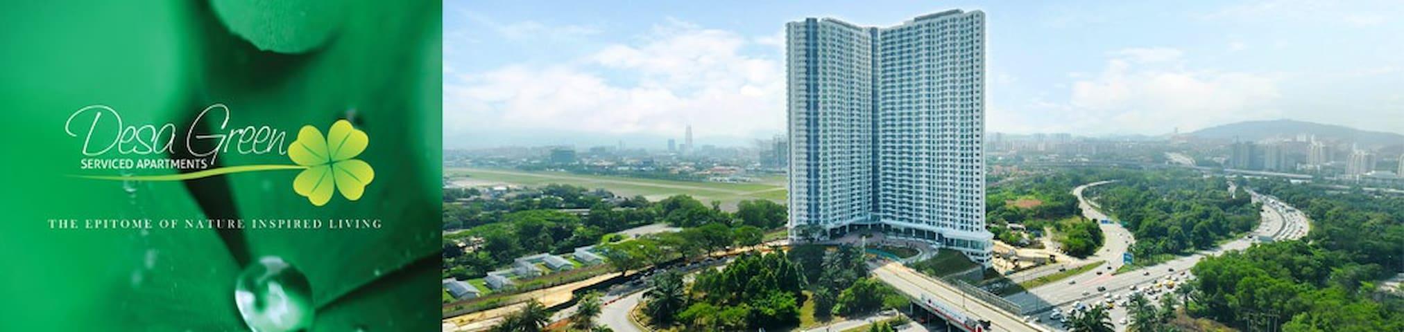 Kuala Lumpur - Desa Green Service Apartment 2Bedr - Kuala Lumpur