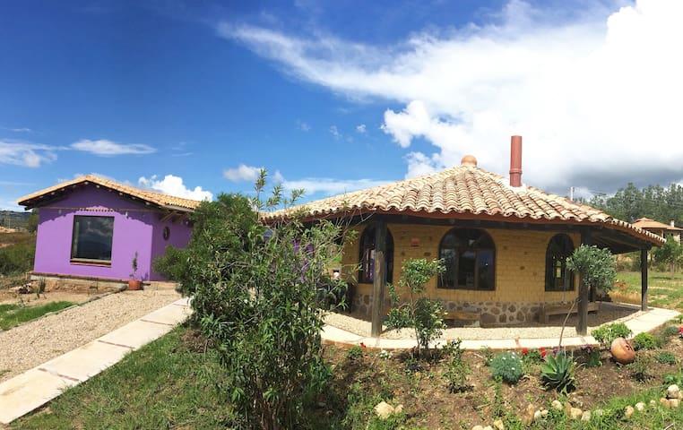 Bella casa campestre Villa de Leyva - Villa de Leyva - House