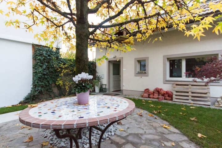 Charming little house near center - Ljubljana - Casa