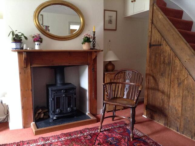 Single Cottage bedroom for Walkers & Cyclists
