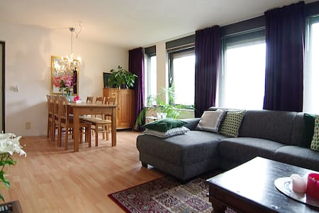 SPACIOUS apt. with small balcony! - Amszterdam - Lakás
