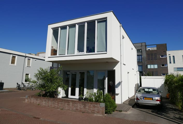 Single villa on island in Amsterdam- families only