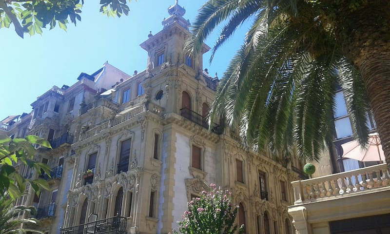 Palace in the city center - San Sebastián - Flat