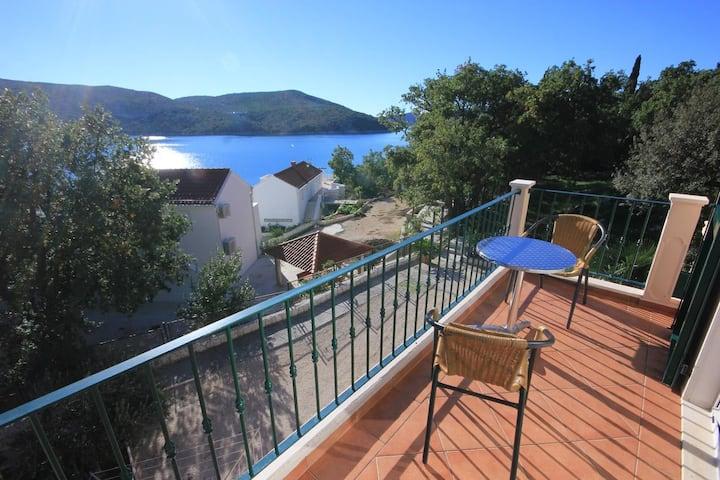 Room with balcony and sea view Slano, Dubrovnik (S-2681-b)