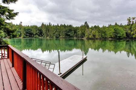 Secluded 2BR Olympia Cabin - Olympia