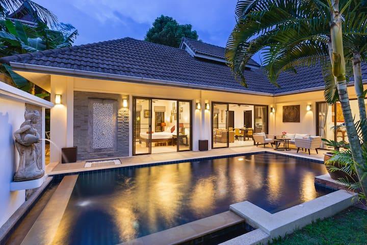 Villa Thaï-Balinaise, Piscine Privée, 2C, Rénovée