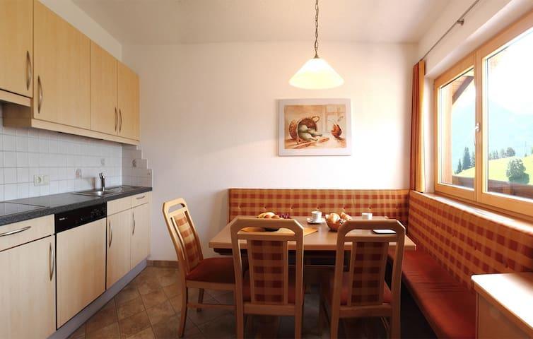 Serfaus, Apartment 4 Personen ca. 90m², Balkon