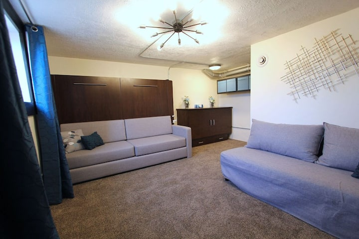 QUIET Modern Basement Apt. 1-6 guests RARE FIND