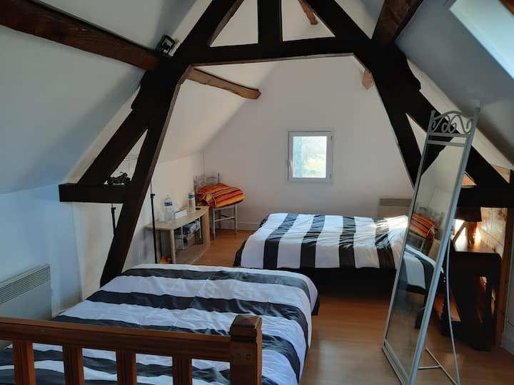 La Dannevillaise chambre indépendante/Studio