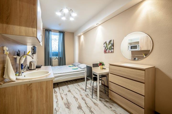 2х местный номер c удобствами и 2х сп. кроватью