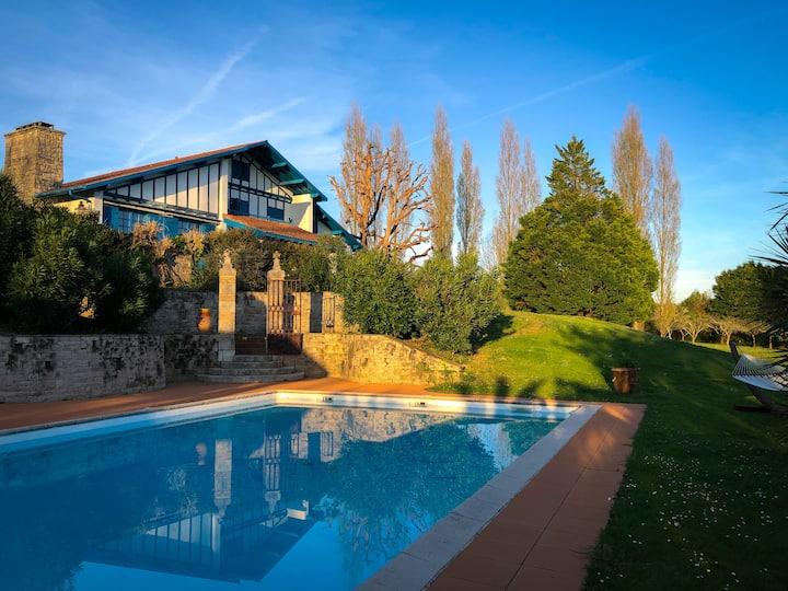 Goiz Argi, villa de prestige à 10 min de Biarritz