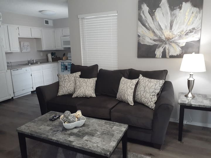 Beautiful furnished 1 Bedroom W/D in unit 50-103