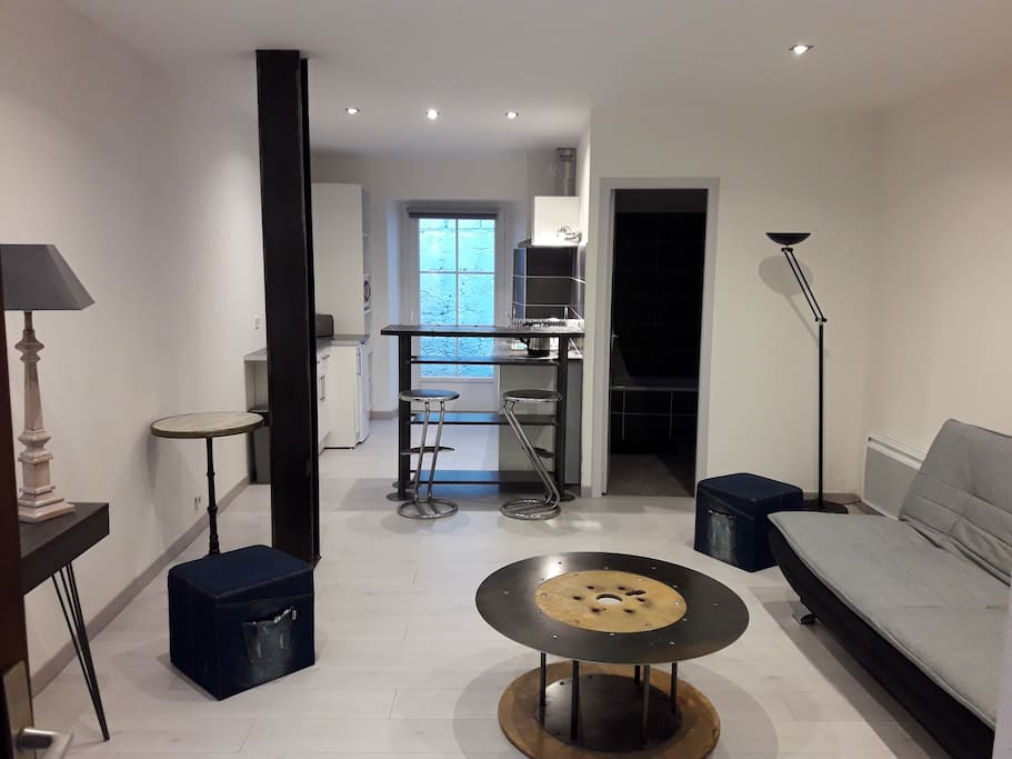 studio avec patio privatif dans une petite copro appartements louer pau nouvelle. Black Bedroom Furniture Sets. Home Design Ideas