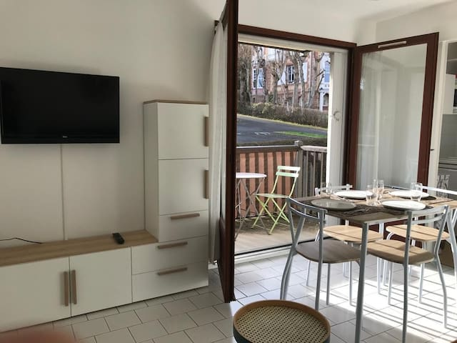 Close to Deauville bright and cosy appartment