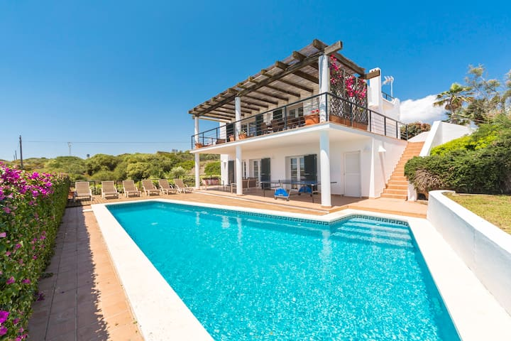 VILLA MIRANDA - Large villa with views over the Port of Mahon