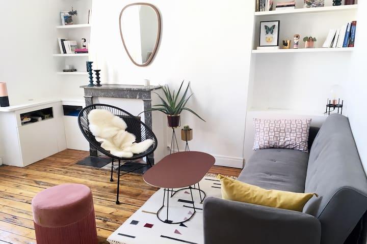 Charmant appartement niché au coeur de Paris