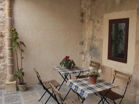 Típica casa mallorquina en el centro de Mallorca
