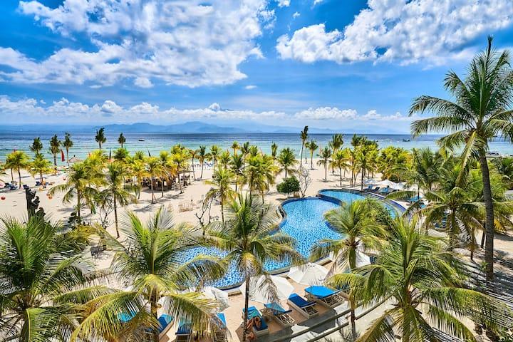 4 Star Beach Front Resort with Golden Sand Beach