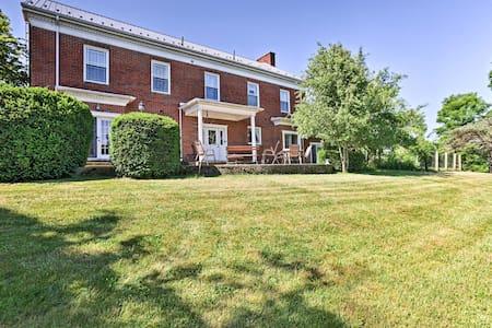 Spacious House w/ Patio - Near Historic Madison!