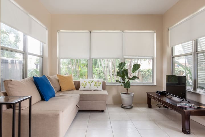 Private guest house 5min from beach - Pompano Beach - Hus