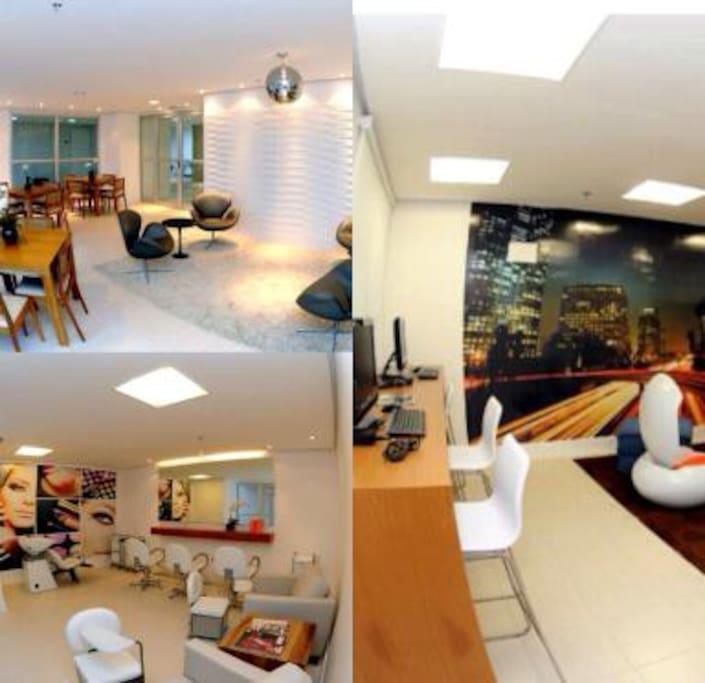 Lounge e Home office