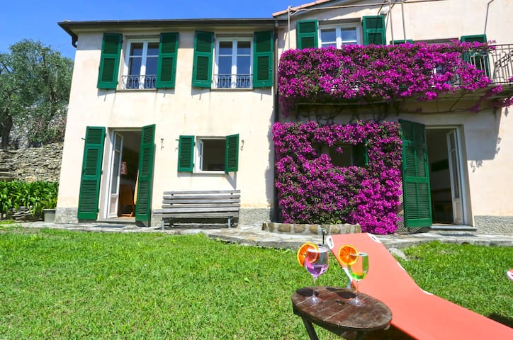 Andreas, panoramic view, garden, parking and WiFi - Sant'Andrea di Rovereto - Villa