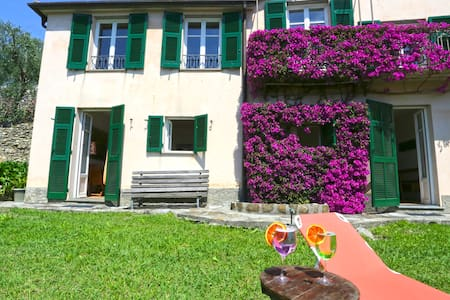 Andreas, panoramic view, garden, parking and WiFi - Villa