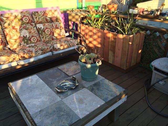 SFMission District Roof Deck Retreat