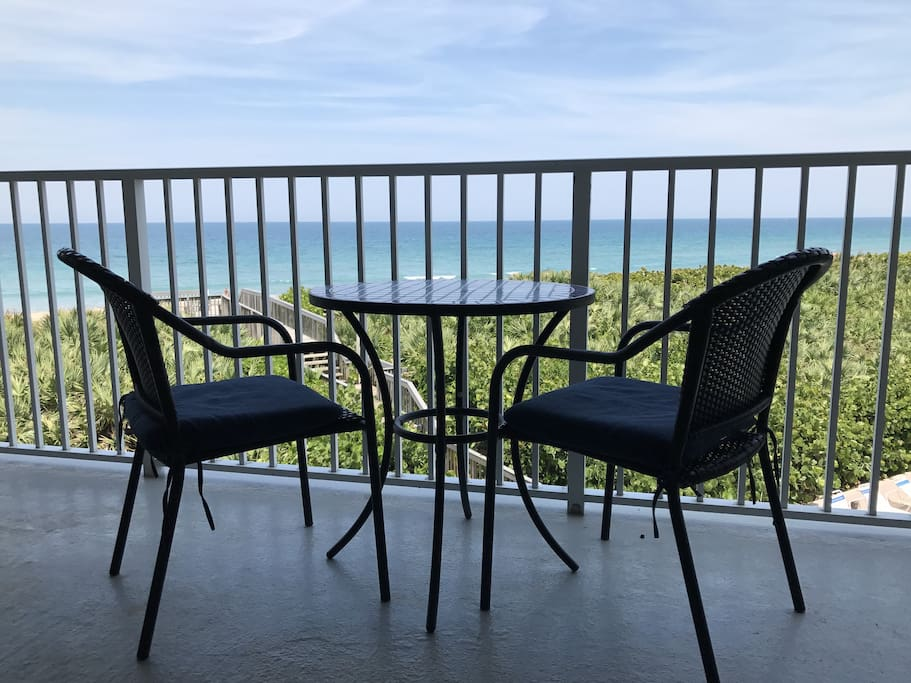 Direct ocean front views and breezes.