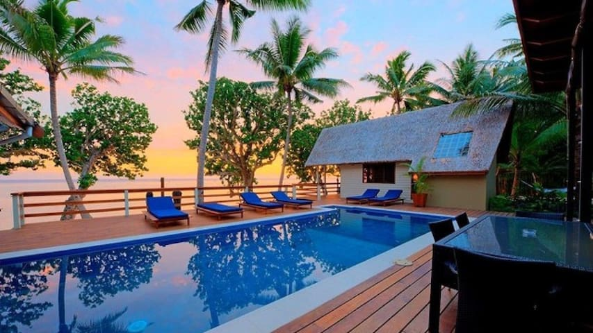BeachFront Private Villa