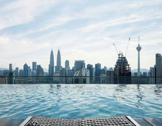 #2. Daily Rent 1 BedRoom,KL,MY 4pax - Kuala Lumpur - Dom