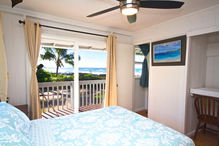 Oceanfront Beachhouse - Sharks Cove - Haleiwa - Huis