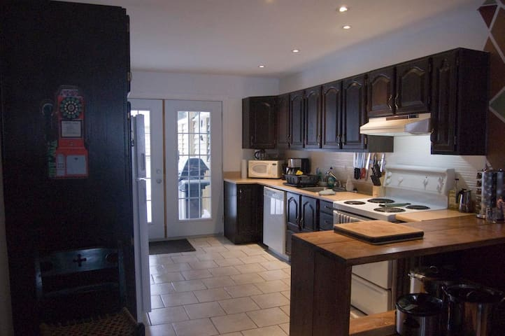 Big 5 1/2 on 2 floors to be rented with internet - Rimouski - Apartamento