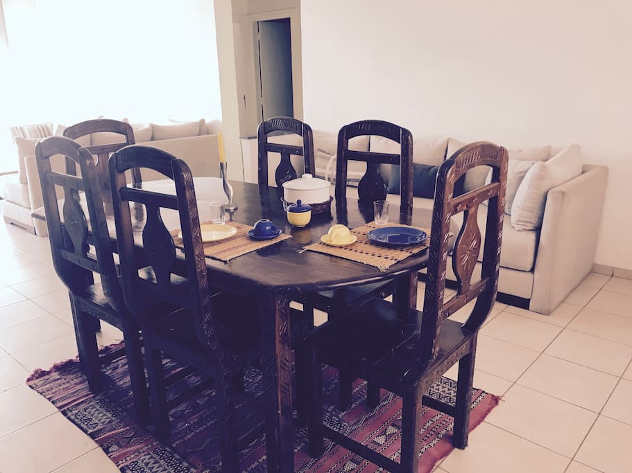 Dinning room (6 guests)