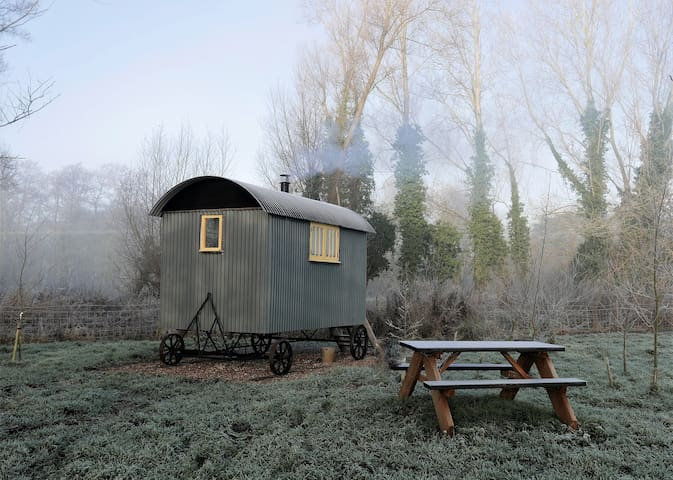 Fen Lodge Shepherd's Huts, a great place to unwind - Middleton - Baraka
