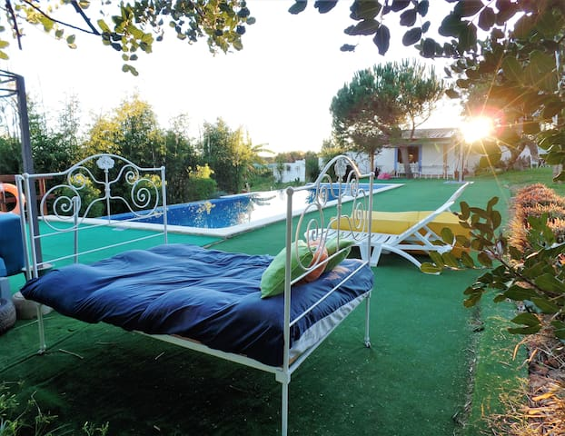 AlgarvePT farm cottage 5 air cond& pool for family - Alcantarilha - Villa