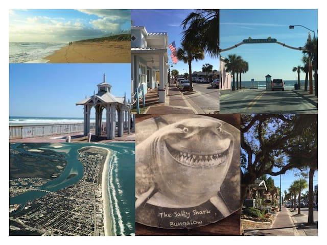 Salty Shark Bungalow - New Smyrna Beach - Dom