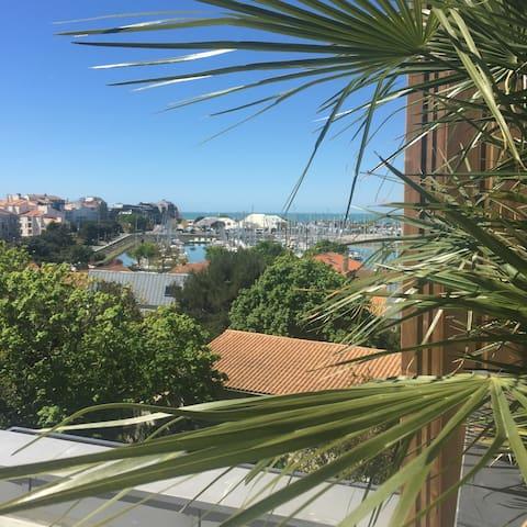 Appartement 6 pers. de luxe vue mer, SPA, 3 Ch/SdE - La Rochelle - Apartamento