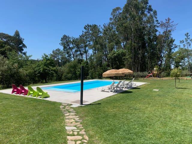 Vivenda no Campo, ideal para famílias e amigos