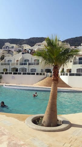 Holiday home on Tiguert beach -  right by the pool