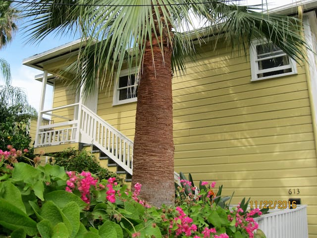 Tiny Guest house in Galveston - Galveston - Apartemen