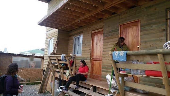 Cabaña ambiente familiar
